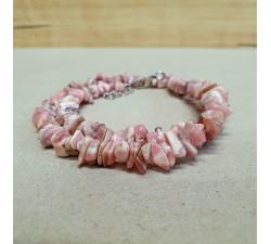 Rodochrozit sekaný náhrdelník