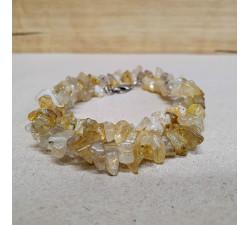 Sagenit sekaný náhrdelník