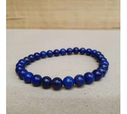 Lapis lazuli 6mm kuličkový náramek
