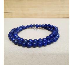Lapis lazuli 6mm kuličkový náhrdelník