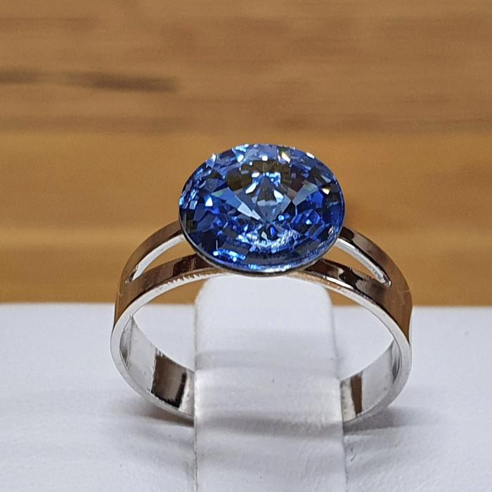 Prsten SW - Light sapphire