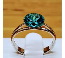 Prsten SW - Light turquoise 8mm