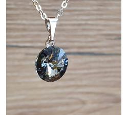 Přívěsek s řetízkem SW - Black diamond 10mm