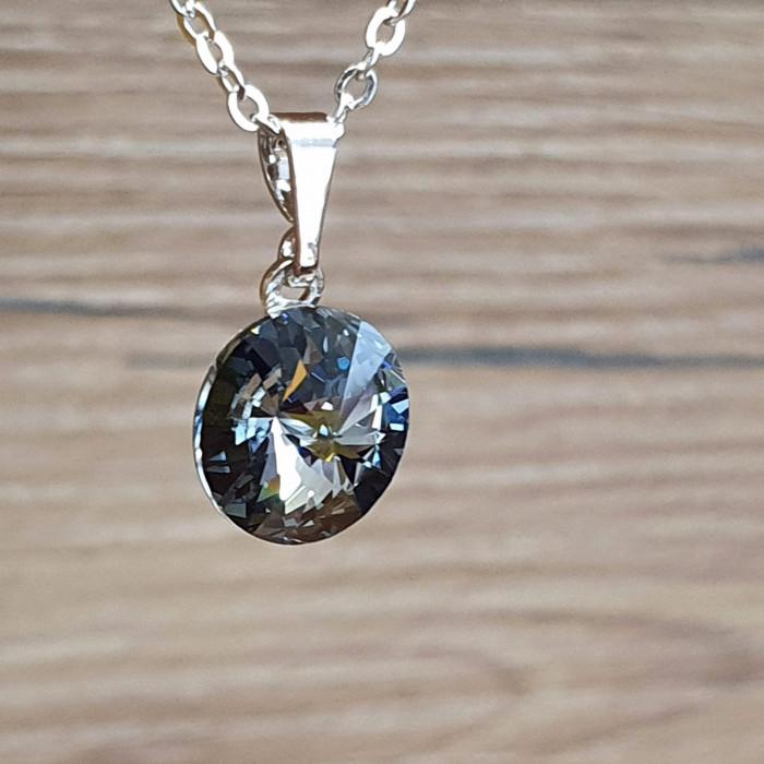 Přívěsek s řetízkem SW - Black diamond