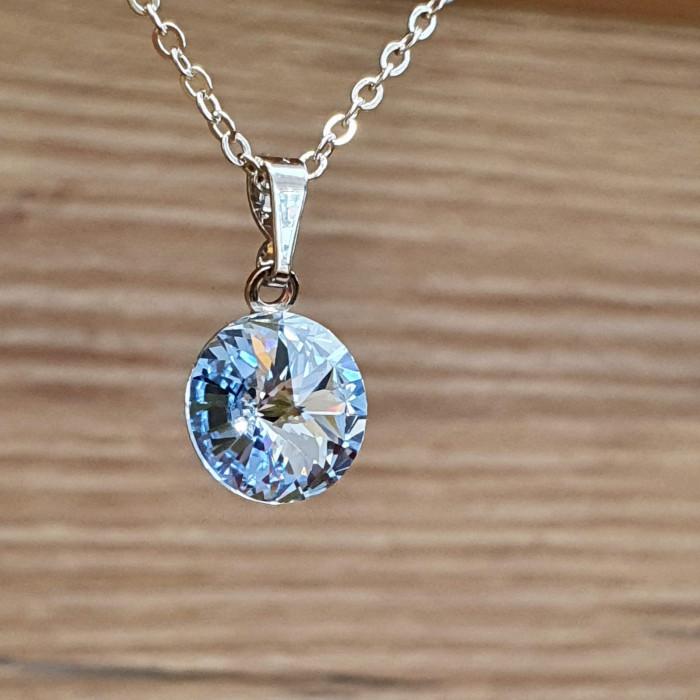 Přívěsek s řetízkem SW - Light sapphire