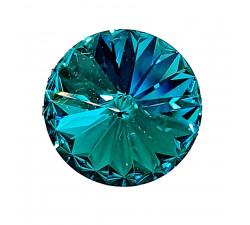 Prsten SW - Blue zircon