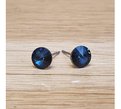 Náušnice puzeta SW - Denim blue
