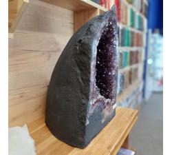Ametystová geoda 49,3 kg z Brazílie.
